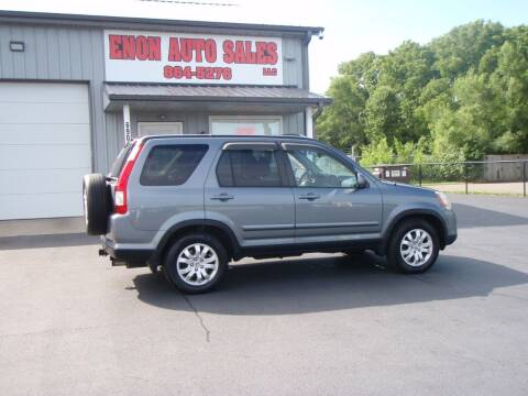 2005 Honda CR-V for sale at ENON AUTO SALES in Enon OH