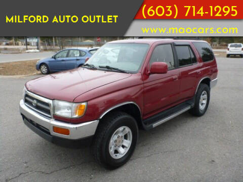 1997 Toyota 4Runner for sale at Milford Auto Outlet in Milford NH