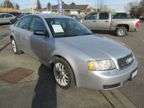 2002 Audi A6 for sale at Car Link Auto Sales LLC in Marysville WA