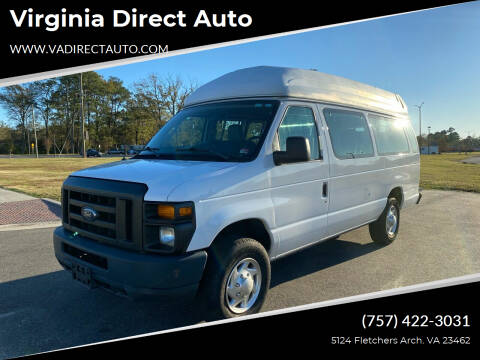2012 Ford E-Series Cargo for sale at Virginia Direct Auto in Virginia Beach VA