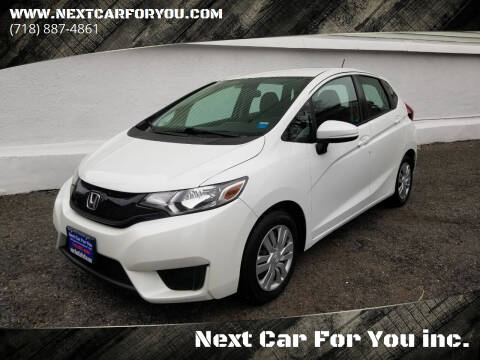 2015 Honda Fit for sale at Next Car For You inc. in Brooklyn NY