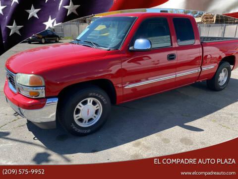 2002 GMC Sierra 1500 for sale at El Compadre Auto Plaza in Modesto CA