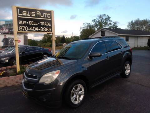 2011 Chevrolet Equinox for sale at LEWIS AUTO in Mountain Home AR