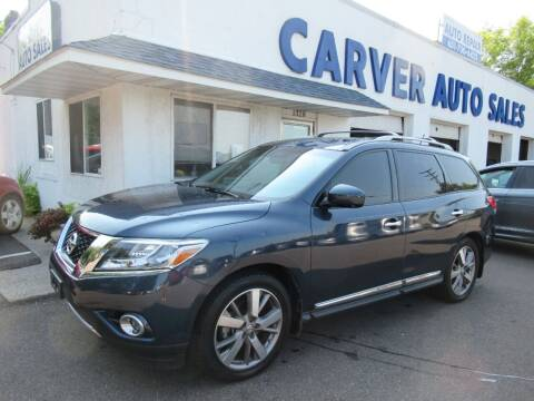 2015 Nissan Pathfinder for sale at Carver Auto Sales in Saint Paul MN