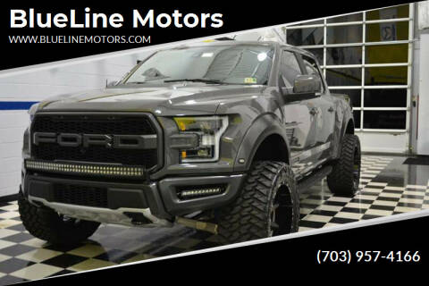 2018 Ford F-150 for sale at Blue Line Motors in Winchester VA