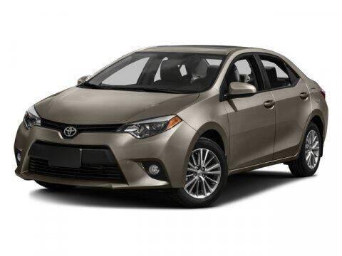 2016 Toyota Corolla for sale at Nu-Way Auto Ocean Springs in Ocean Springs MS