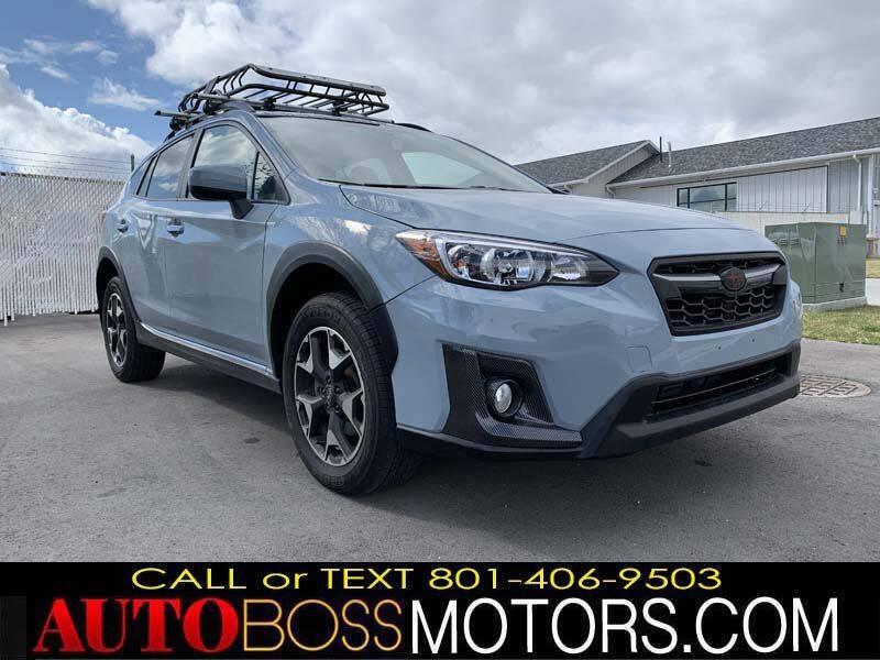 2020 Subaru Crosstrek for sale at Auto Boss in Woodscross UT