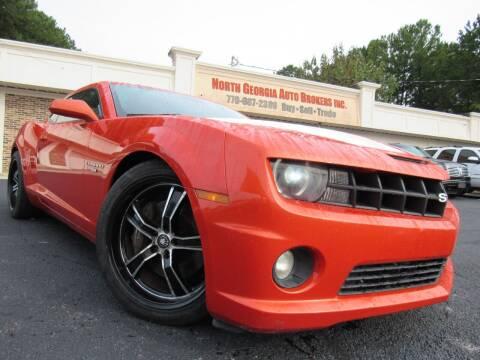 2010 Chevrolet Camaro for sale at North Georgia Auto Brokers in Snellville GA
