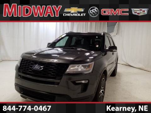 2019 Ford Explorer for sale at Midway Auto Outlet in Kearney NE