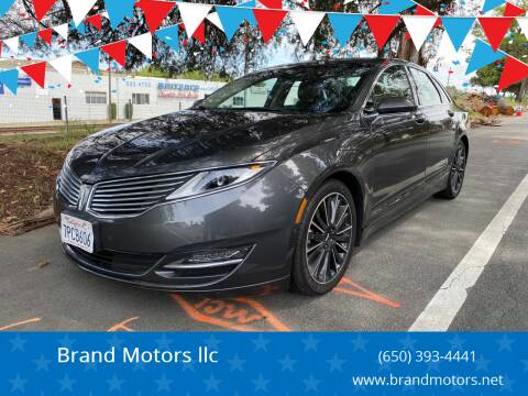 2016 Lincoln MKZ Hybrid for sale at Brand Motors llc - Belmont Lot in Belmont CA
