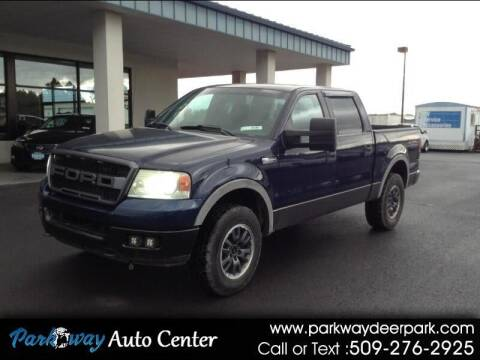 2005 Ford F-150 for sale at PARKWAY AUTO CENTER AND RV in Deer Park WA