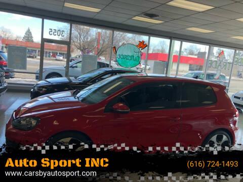 2011 Volkswagen GTI for sale at Auto Sport INC in Grand Rapids MI