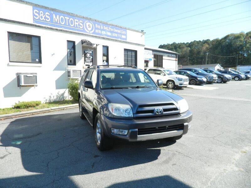 2004 Toyota 4Runner for sale at S & S Motors in Marietta GA