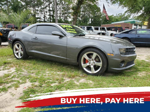 2010 Chevrolet Camaro for sale at Rodgers Enterprises in North Charleston SC
