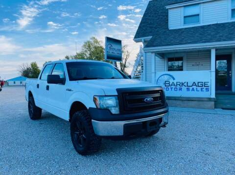2014 Ford F-150 for sale at BARKLAGE MOTOR SALES in Eldon MO