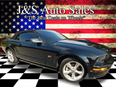 2007 Ford Mustang for sale at J & S Auto Sales in Clarksville TN