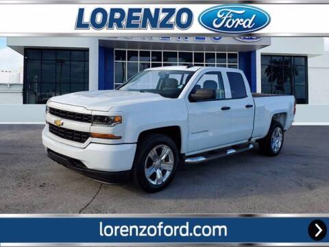 2018 Chevrolet Silverado 1500 for sale at Lorenzo Ford in Homestead FL