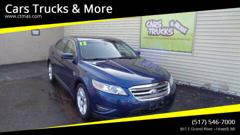 2012 Ford Taurus for sale at Cars Trucks & More in Howell MI