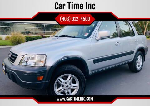 1999 Honda CR-V for sale at Car Time Inc in San Jose CA