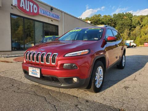 2017 Jeep Cherokee for sale at Auto Wholesalers Of Hooksett in Hooksett NH