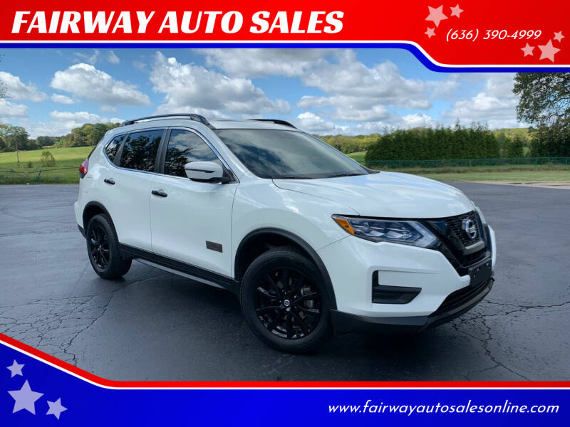 2017 Nissan Rogue for sale at FAIRWAY AUTO SALES in Washington MO