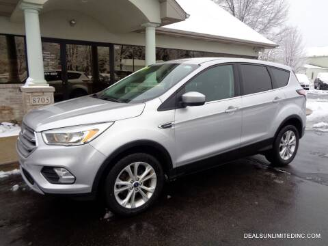 2017 Ford Escape for sale at DEALS UNLIMITED INC in Portage MI
