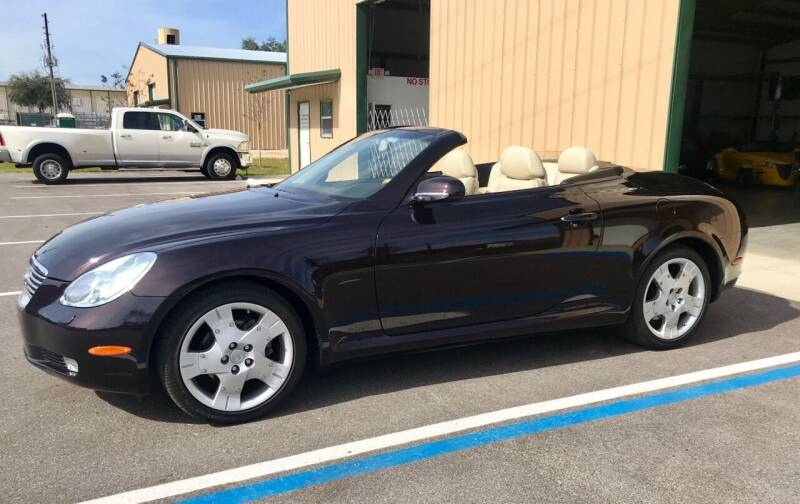 2004 Lexus SC 430 for sale at Suncoast Sports Cars and Exotics in West Palm Beach FL