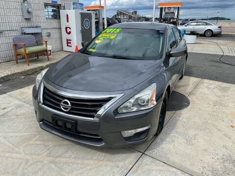 2015 Nissan Altima for sale at Quincy Shore Automotive in Quincy MA