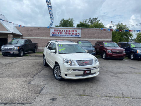 2011 GMC Acadia for sale at Brothers Auto Group in Youngstown OH