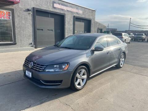 2012 Volkswagen Passat for sale at Auto Image Auto Sales in Pocatello ID
