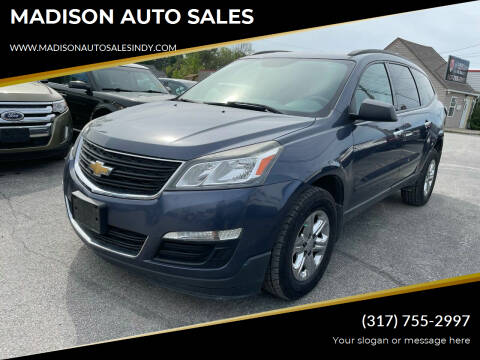 2013 Chevrolet Traverse for sale at MADISON AUTO SALES in Indianapolis IN