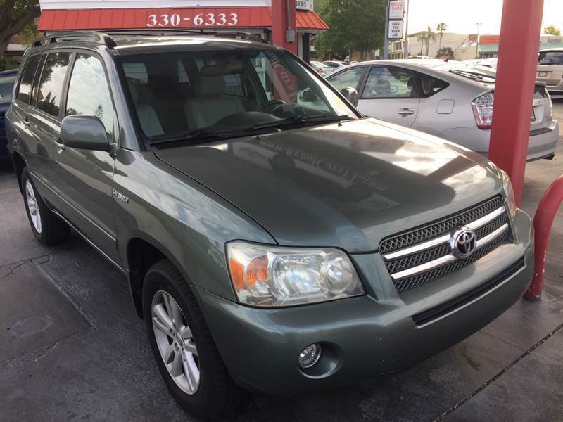 2007 Toyota Highlander Hybrid for sale at Regal Cars of Florida-Clearwater Hybrids in Clearwater FL