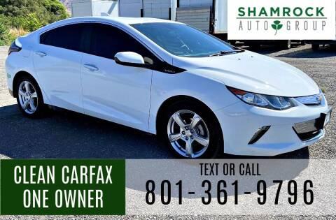 2017 Chevrolet Volt for sale at Shamrock Group LLC #1 in Pleasant Grove UT