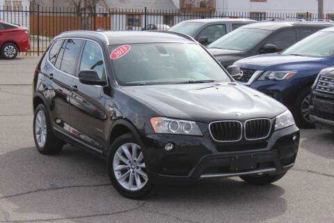 2013 BMW X3 for sale at Car Bazaar INC in Salt Lake City UT