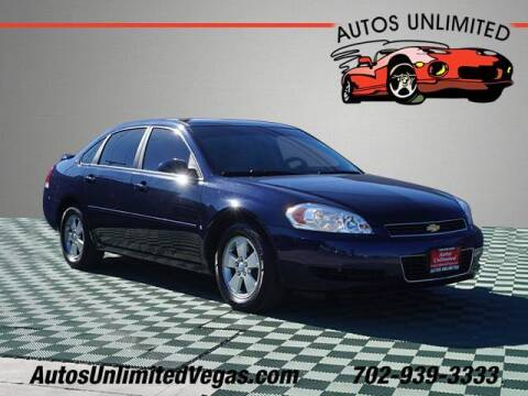 2008 Chevrolet Impala for sale at Autos Unlimited in Las Vegas NV