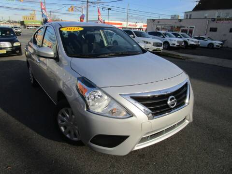 2019 Nissan Versa for sale at Dina Auto Sales in Paterson NJ