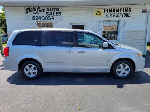 2012 Dodge Grand Caravan for sale at STATE LINE AUTO SALES in New Church VA