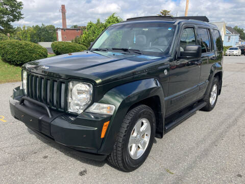 2011 Jeep Liberty for sale at D'Ambroise Auto Sales in Lowell MA