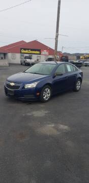 2013 Chevrolet Cruze for sale at Credit Connection Auto Sales Inc. CARLISLE in Carlisle PA