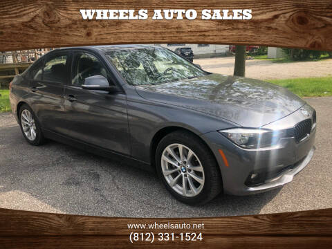 2017 BMW 3 Series for sale at Wheels Auto Sales in Bloomington IN