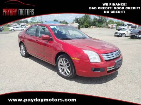 2009 Ford Fusion for sale at Payday Motors in Wichita KS