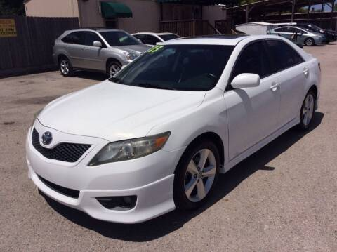 2011 Toyota Camry for sale at OASIS PARK & SELL in Spring TX