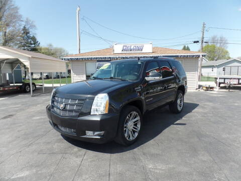 2013 Cadillac Escalade for sale at DeLong Auto Group in Tipton IN