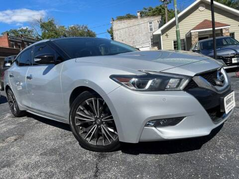 2017 Nissan Maxima for sale at Murrays Used Cars Inc in Baltimore MD