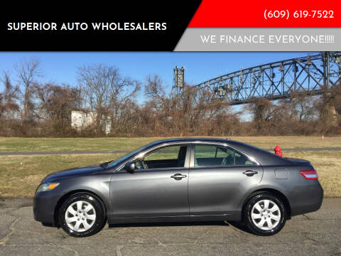 2011 Toyota Camry for sale at Superior Auto Wholesalers in Burlington City NJ