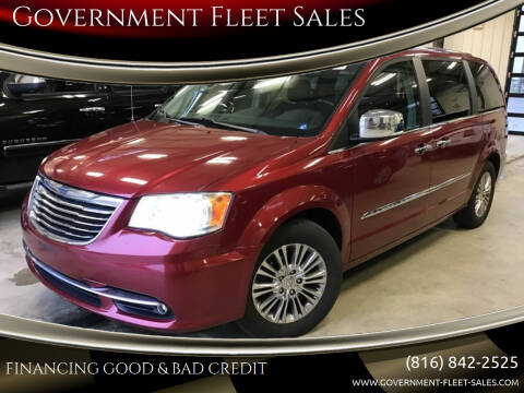 2011 Chrysler Town and Country for sale at Government Fleet Sales in Kansas City MO