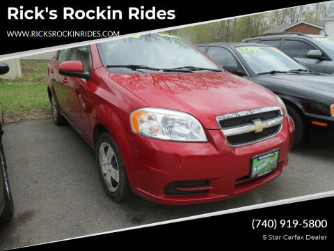 2011 Chevrolet Aveo for sale at Rick's Rockin Rides in Reynoldsburg OH