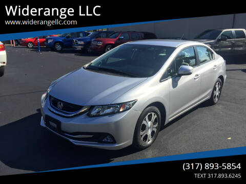 2013 Honda Civic for sale at Widerange LLC in Greenwood IN