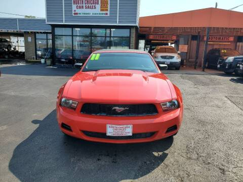 2011 Ford Mustang for sale at North Chicago Car Sales Inc in Waukegan IL