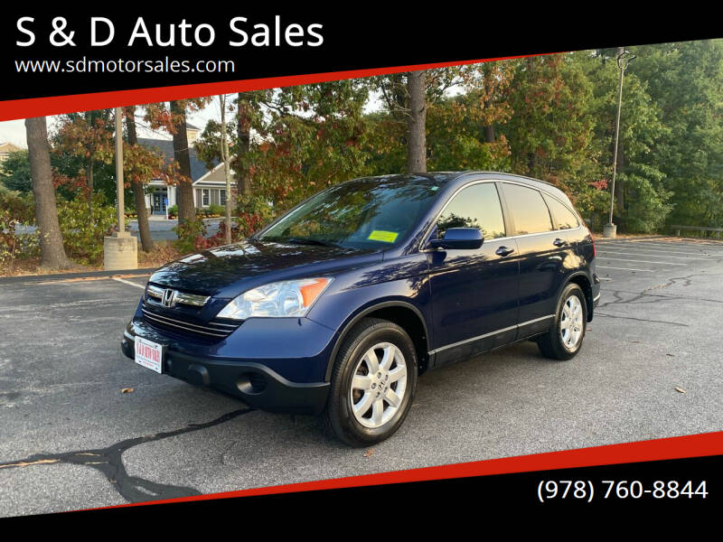 2009 Honda CR-V for sale at S & D Auto Sales in Maynard MA